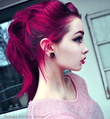 Colores fantasia en pelo corto